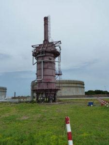 Mise en conformité des fours de réchauffage des cuves de stockage en raffinerie