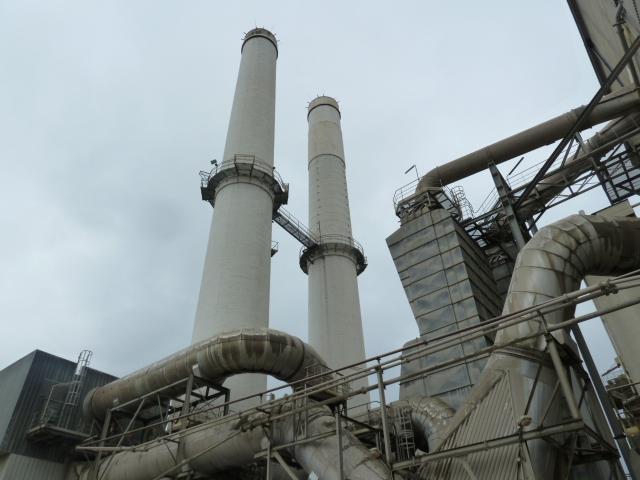 Entretien de cheminées de four dans l'industrie