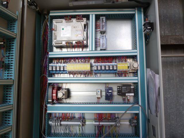 Cablage d'armoire de gestion de gaz par four avec LVM5