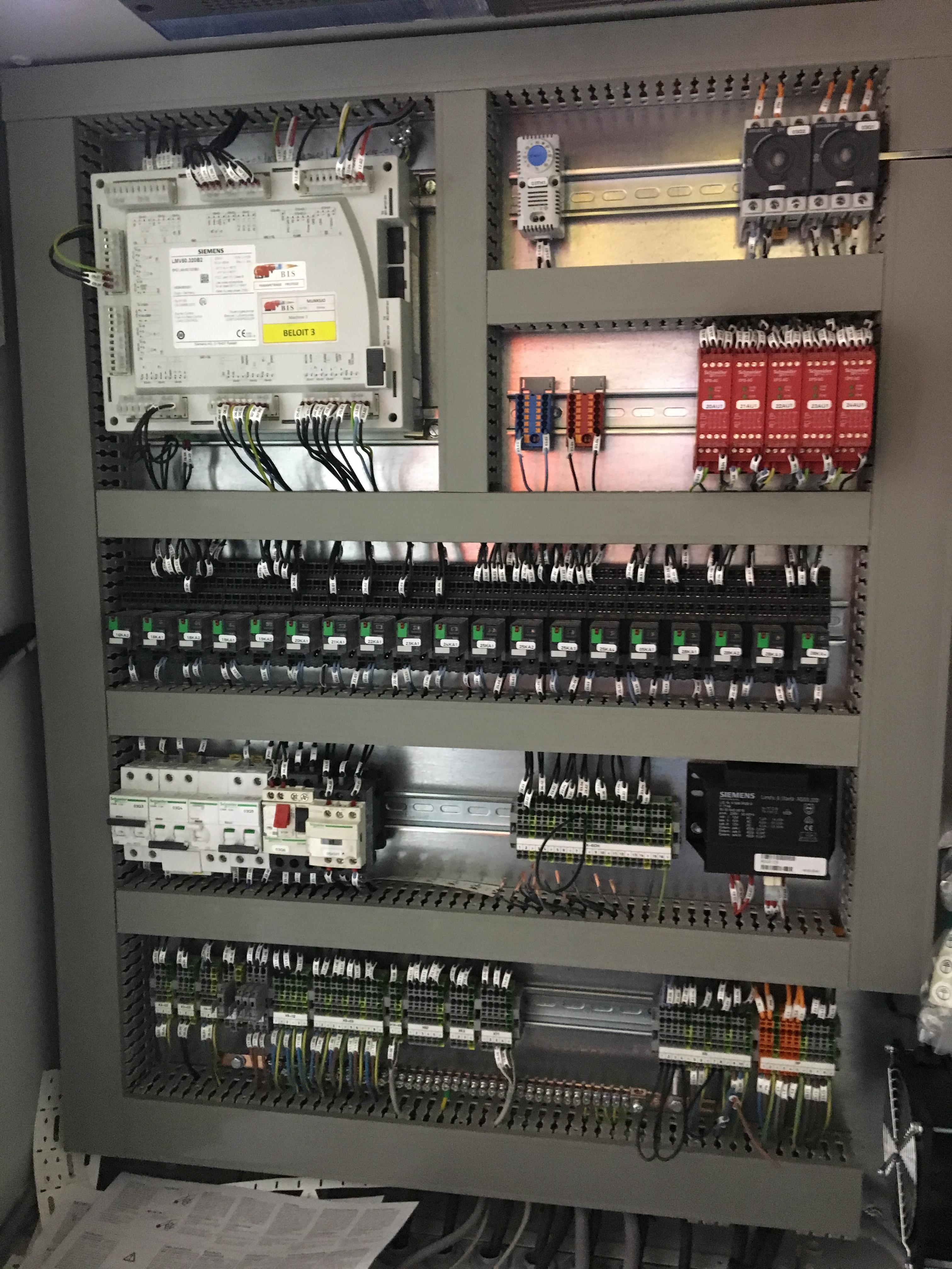 Intégration d'un automate LVM5 de marque Siemens