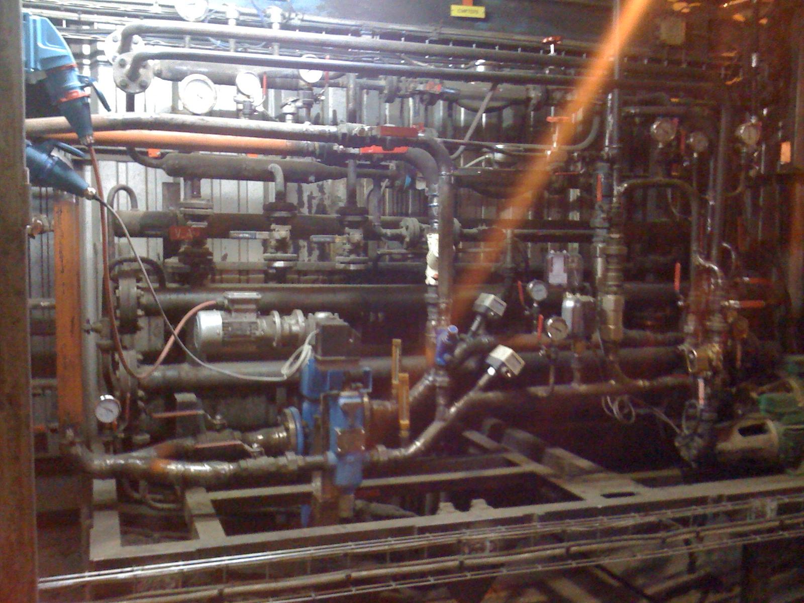 Préparation HP et réchauffage du fioul