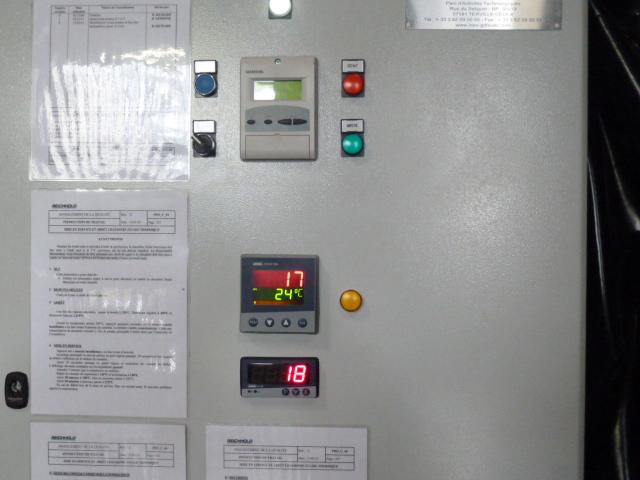 Réalisation d'une armoire de commande pour brûleur industriel