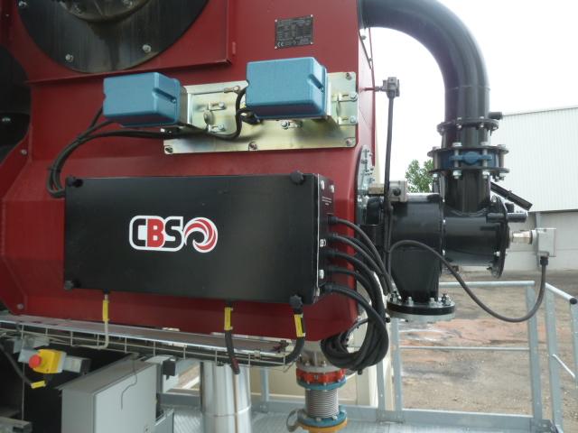 Dépannage de brûleur industriel de marque CBS