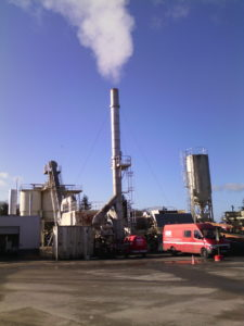 Entretien de centrales d'enrobage